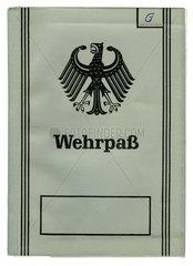 Wehrpass  Bundeswehr  1962