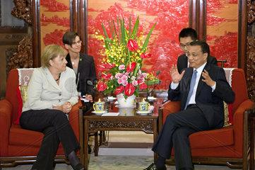 Merkel + Li Keqiang