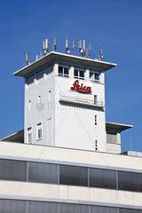 Turm der Leica Microsystems GmbH  Leica-Stammsitz in Wetzlar