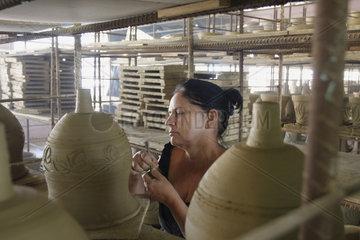 Keramik Manufaktur in Trinidad