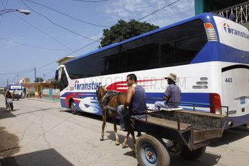 Strassenverkehr in Trinidad
