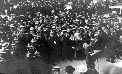 Verkuendigung des Kriegszustandes 31 Juli 1914