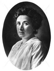 Portraet von Rosa Luxemburg 1910-1920