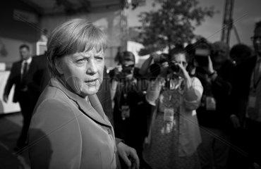 Merkel does Waren