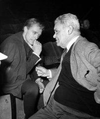 Fritz Kortner und Erich Schellow