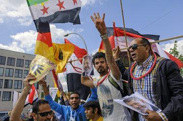 Protest gegen Al-Sisi
