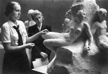 Werkstatt eines Bildhauer des Drittes Reiches
