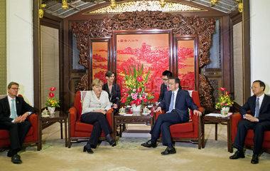 Westerwelle + Merkel + Li Keqiang + Yang Jiechi