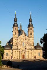 Fulda. Fuldaer Dom St. Salvator.