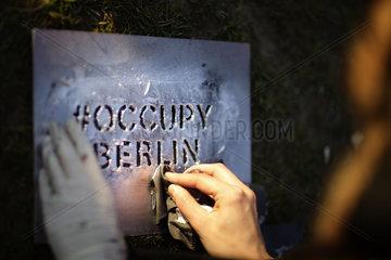 Occupy Berlin Enters Second Week