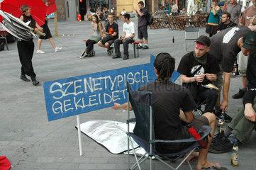 Kundgebung Recht auf Strasse am Hansaplatz gegen Rotlichtverbot