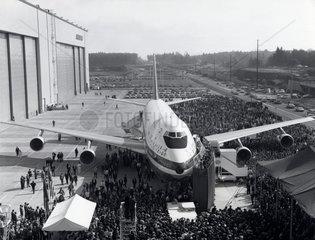 Boeing 747 prototype  Washington  USA  30 September 1968.