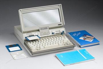 IBM laptop computer  1987-1988.