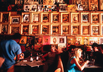 Tootsies Orchid Lounge  Nashville  USA  c 1971.