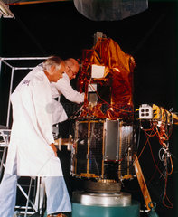 Magnetic Field Satellite (Magsat)  1979.