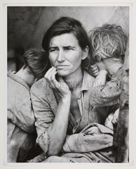 Migrant mother  California  February 1936.