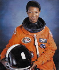 Mae C Jemison  first African-American woman in space  July 1992.