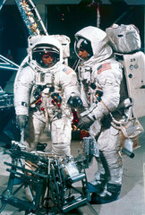 Apollo 12 astronauts in training  1969.
