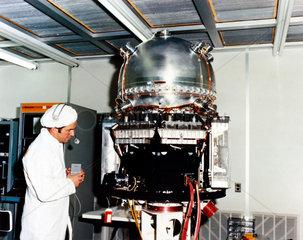 British UK-6 satellite  1979.