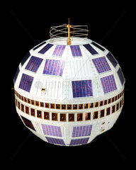 Telstar 1 satellite  1962.