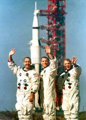 Apollo 9 astronauts  1968.