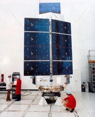 High Energy Astronomy Observatory (HEAO 3) satellite  1979.