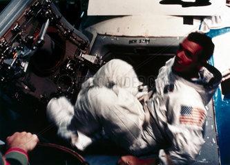 Apollo 9 astronaut David Scott  1969.