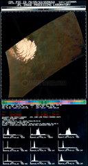 Polar ice cap on Mars  1976.