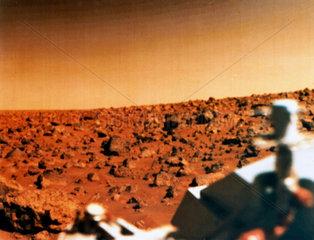 Viking 2 on Mars  1976.