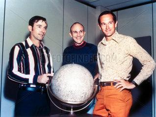 Apollo 16 astronauts  1972.