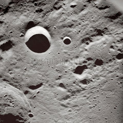 'Long shadows on the lunar surface'  1 May 1969.