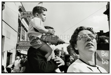 Memorial Day Parade  New York  c 1964.