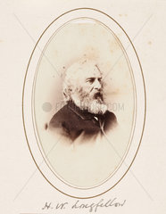 'H. W. Longfellow'  c 1870.