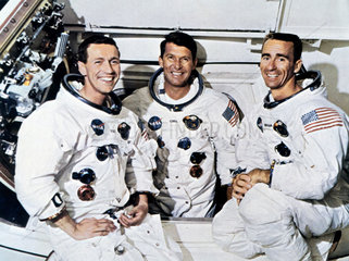 Astronauts of Apollo 7  1968.