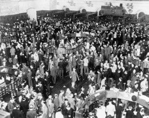 New York Stock Exchange  3 October 1939. Pi