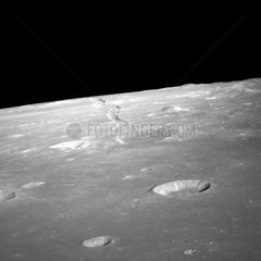 View of Rima Ariadaeus on the Moon  1 May 1969 .