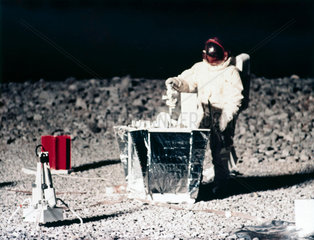 Practising lunar surface activities  1968.