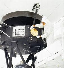 Voyager 2 spacecraft  1977.