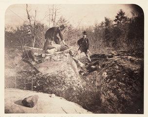 'Gettysburg - 3rd Day  Culp's Hill...'  Pennysylvania  3 July 1863.