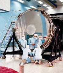 The Hubble Space Telescope's 94-inch mirror  1984.