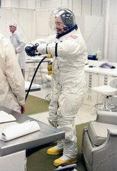 Apollo 10 astronaut John Young  1969.