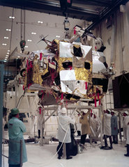 Ascent stage of the Apollo Lunar Module 3 (LM-3)  1968.