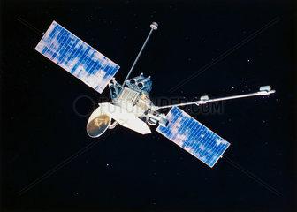The Mariner 10 spacecraft  1973.