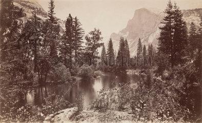 The Half Dome  Yosemite  California  USA  c 1850-1900.