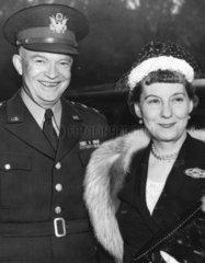 Ike and Mamie Eisenhower  Buckingham Palace  May 1952.