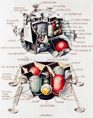 Lunar Excursion Module  1968.