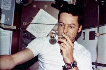 Skylab 2 astronaut  Joseph Kerwin  1973.