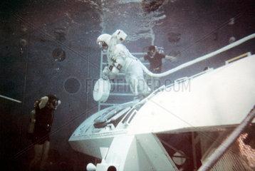 Apollo 16 astronaut training  1971.