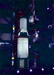 Third stage (S-IVB) of the Apollo 11 Saturn V launch vehicle  1969.