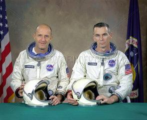 Gemini 9 Prime Crew  5 January 1966.